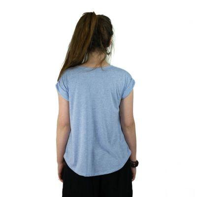Dámské tričko s krátkým rukávem Darika Cats Blue