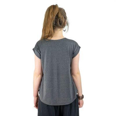 Dámské tričko s krátkým rukávem Darika Harmony Dark Grey