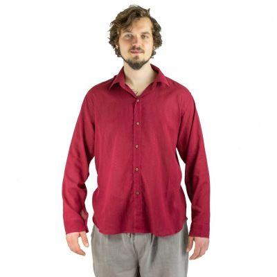 Košile Tombol Burgundy
