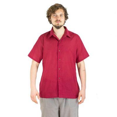 Košile Jujur Burgundy