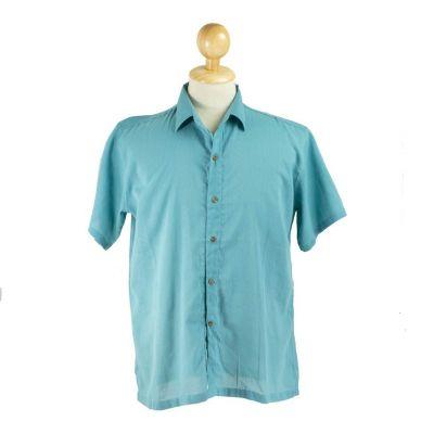 Košile Jujur Teal Blue