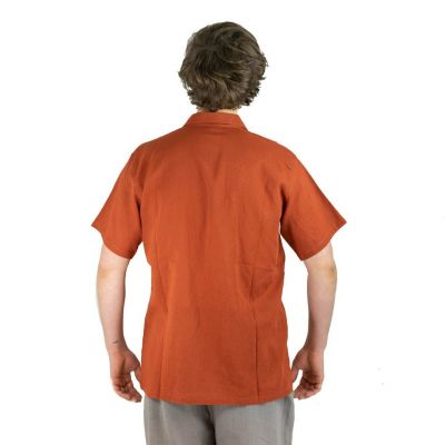 Pánská košile s krátkým rukávem Jujur Orange
