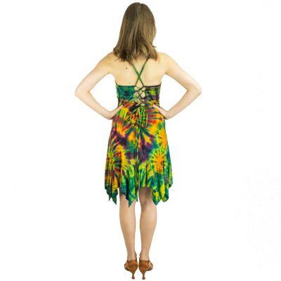 Batikované šaty Patea Kekuatan