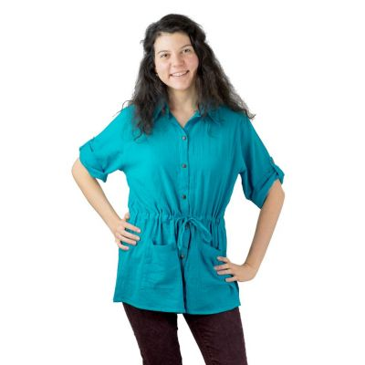 Košile Sumalee Turquoise