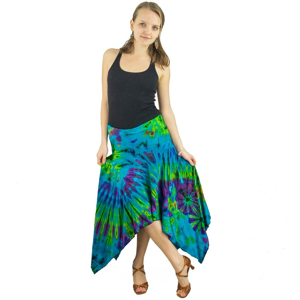 Dlouhá batikovaná sukně Ruthai Pemuda