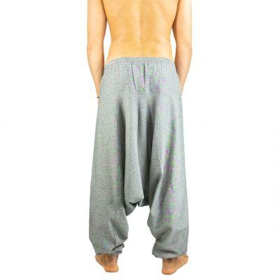 Bavlněné kalhoty typu Alibaba - Badak Kelabu Nepal
