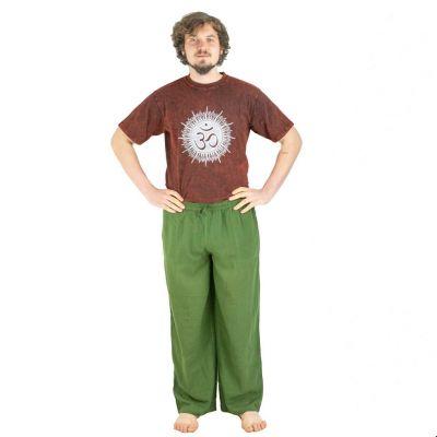 Kalhoty Tanawat Green