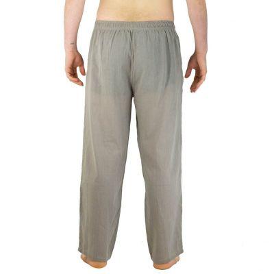 Pánské kalhoty Tanawat Medium Brown