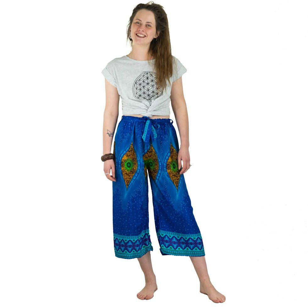 Tříčtvrteční letní kalhoty May Samudra