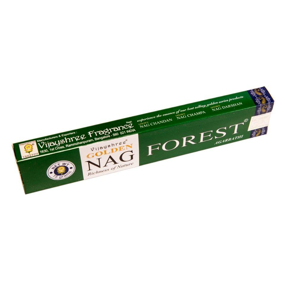 Vonné tyčinky Golden Nag Forest India