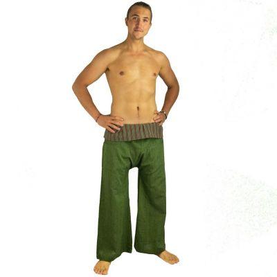 Kalhoty Fisherman's Trousers - zelené