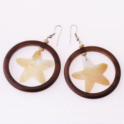 Perleťové náušnice Třpyt hvězdy