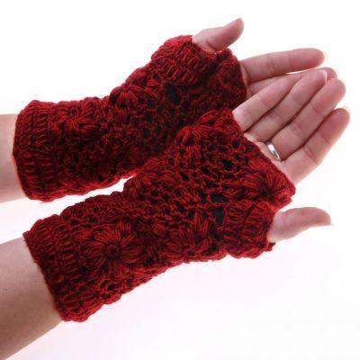 Návleky na ruce Bardia Crimson