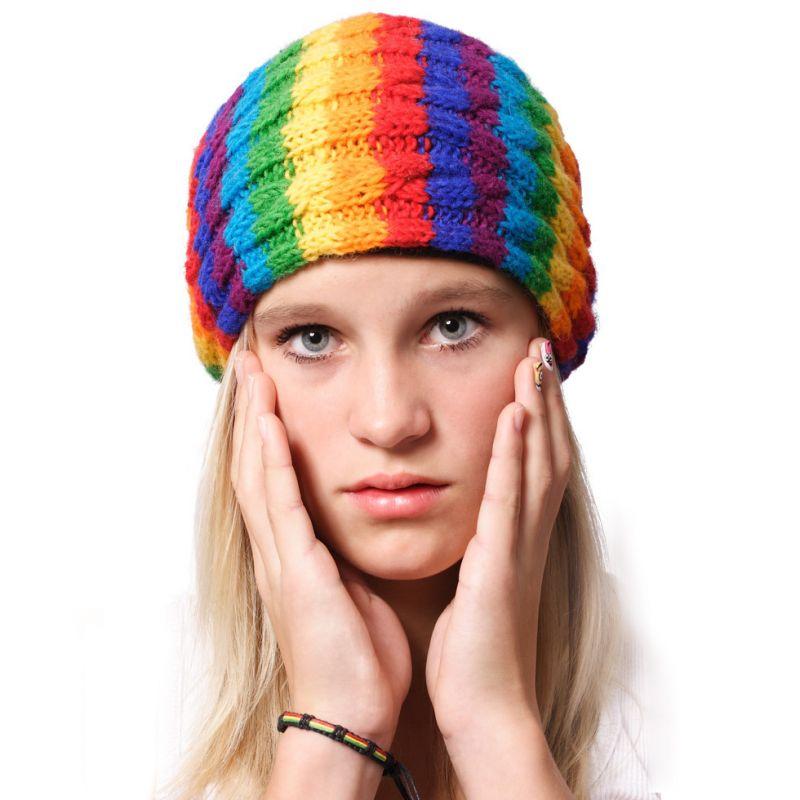 Čepice Thakali Rainbow