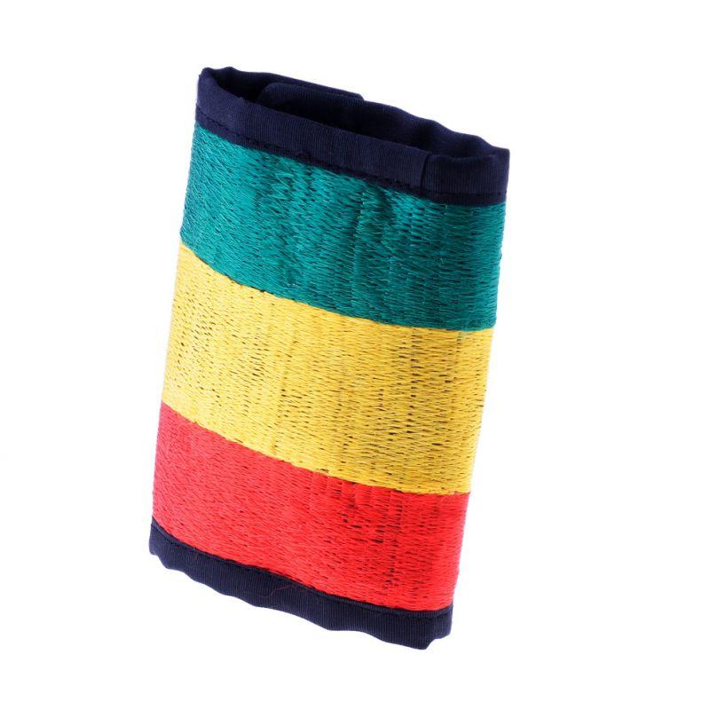 Vyšívaná peněženka Rastafari