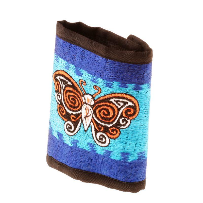Vyšívaná peněženka Motýl na obloze