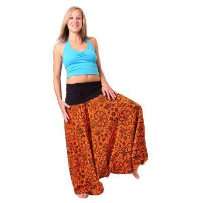 Kalhoty Bunga Jingga