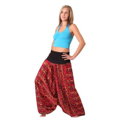 Kalhoty Bunga Merun