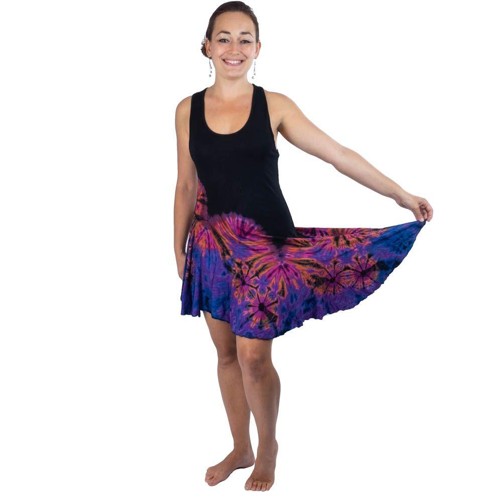 Batikované šaty Gasal Mabuk