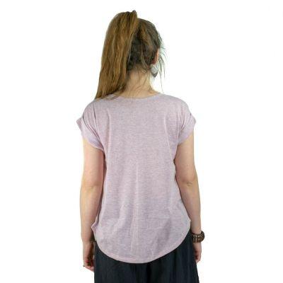 Dámské tričko s krátkým rukávem Darika Harmony Pink