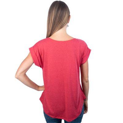 Dámské tričko s krátkým rukávem Darika Harmony Red