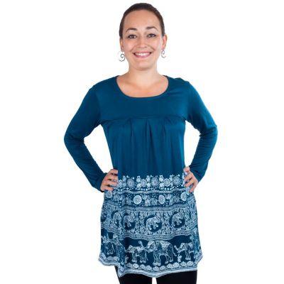 Šaty Myra Petrol Blue