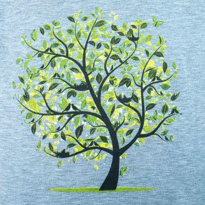 Dámské tričko s krátkým rukávem Darika Meadow Tree Greenish