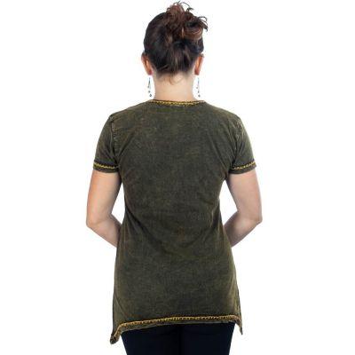 Dámské tričko s krátkým rukávem Ehani Kuning