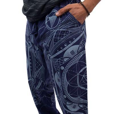 Kalhoty Jantur Biru Nepal