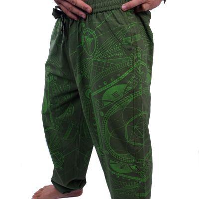 Kalhoty Jantur Hijau Nepal