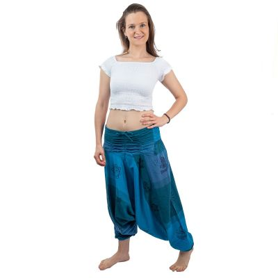 Kalhoty typu Alibaba - Telur Pirus