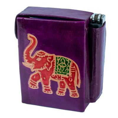 Pouzdro Slon - fialový