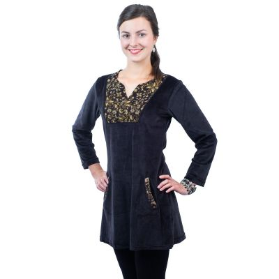 Sametové šaty Kareen Hitam