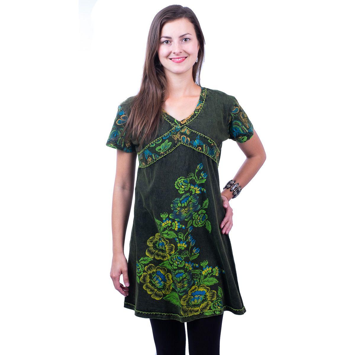 Šaty / Tunika Leila Hijau