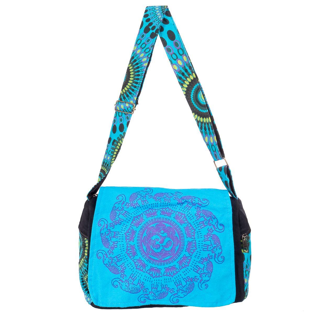 Taška Om Gajah Turquoise