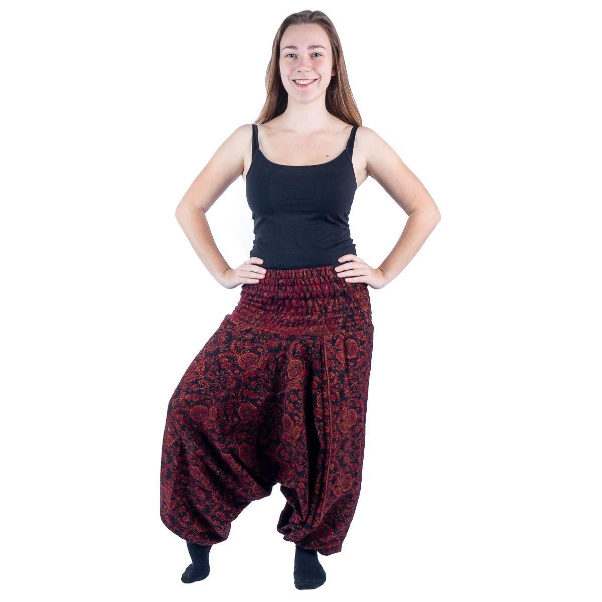 Akrylové kalhoty typu Alibaba Jagrati Glow