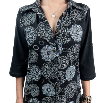 Dlouhá košile Ermelinda Hitam