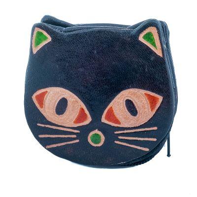 Peněženka Kočička  - černá