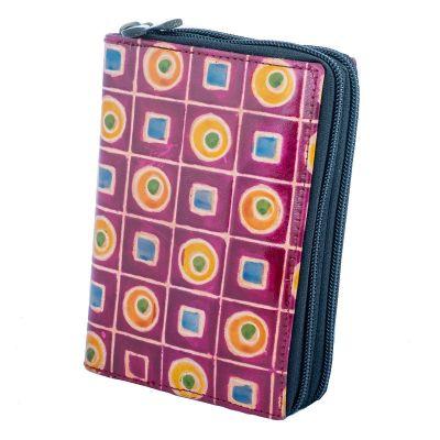 Peněženka Samira - fialová