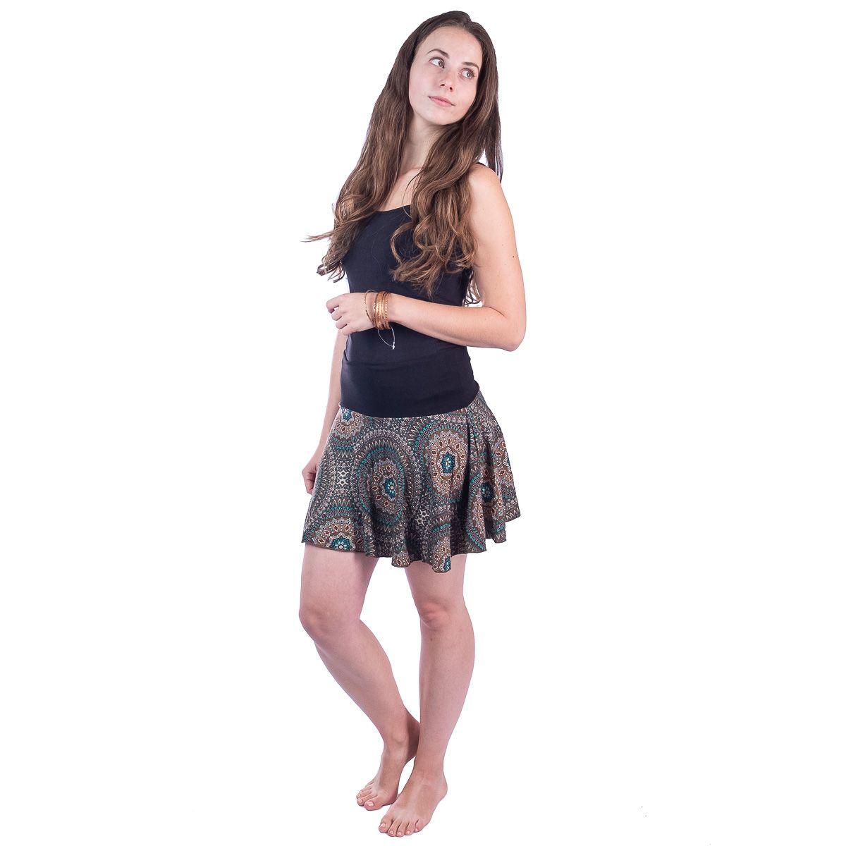 Kolová mini sukně Lutut Hikaru Thailand