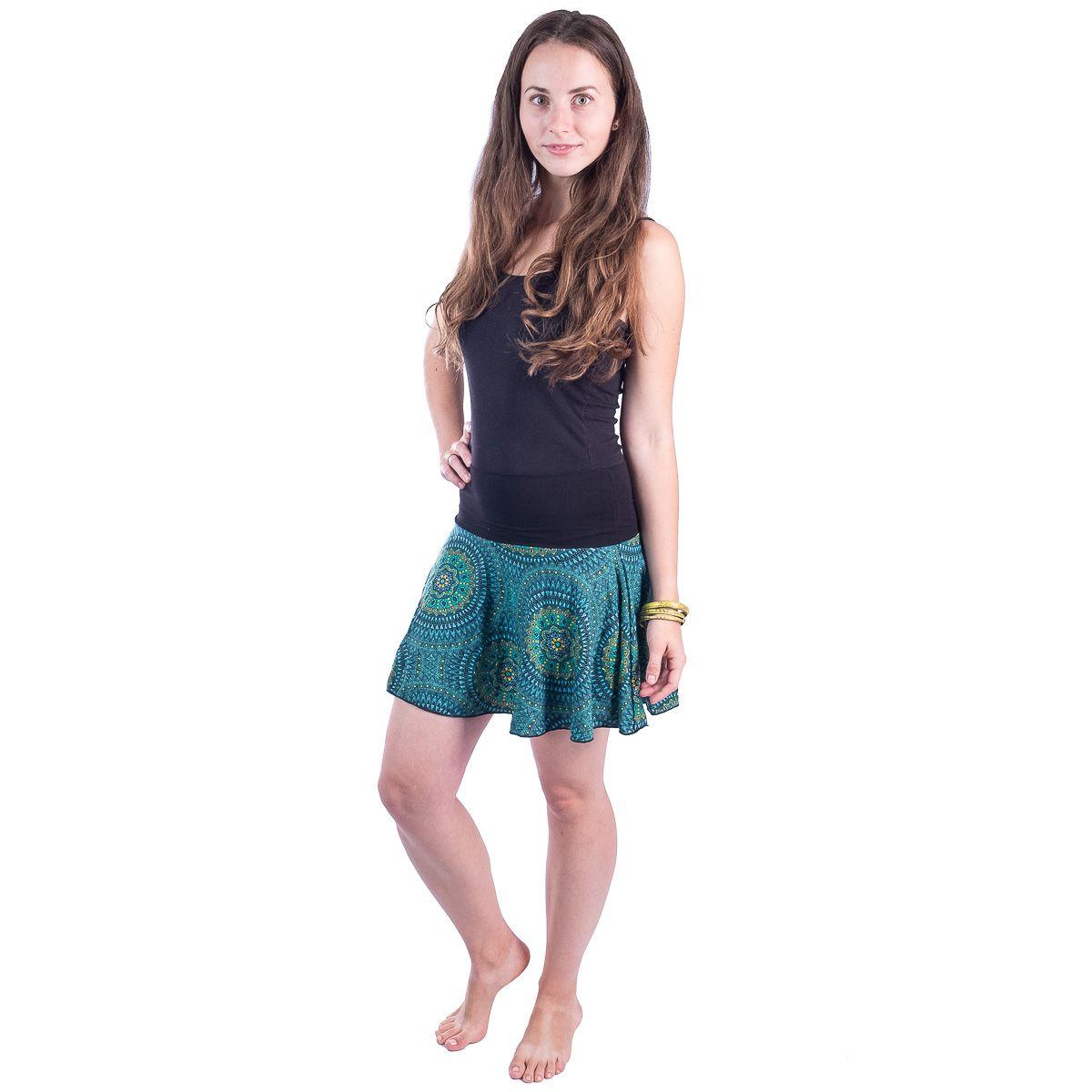 Kolová mini sukně Lutut Michiko Thailand