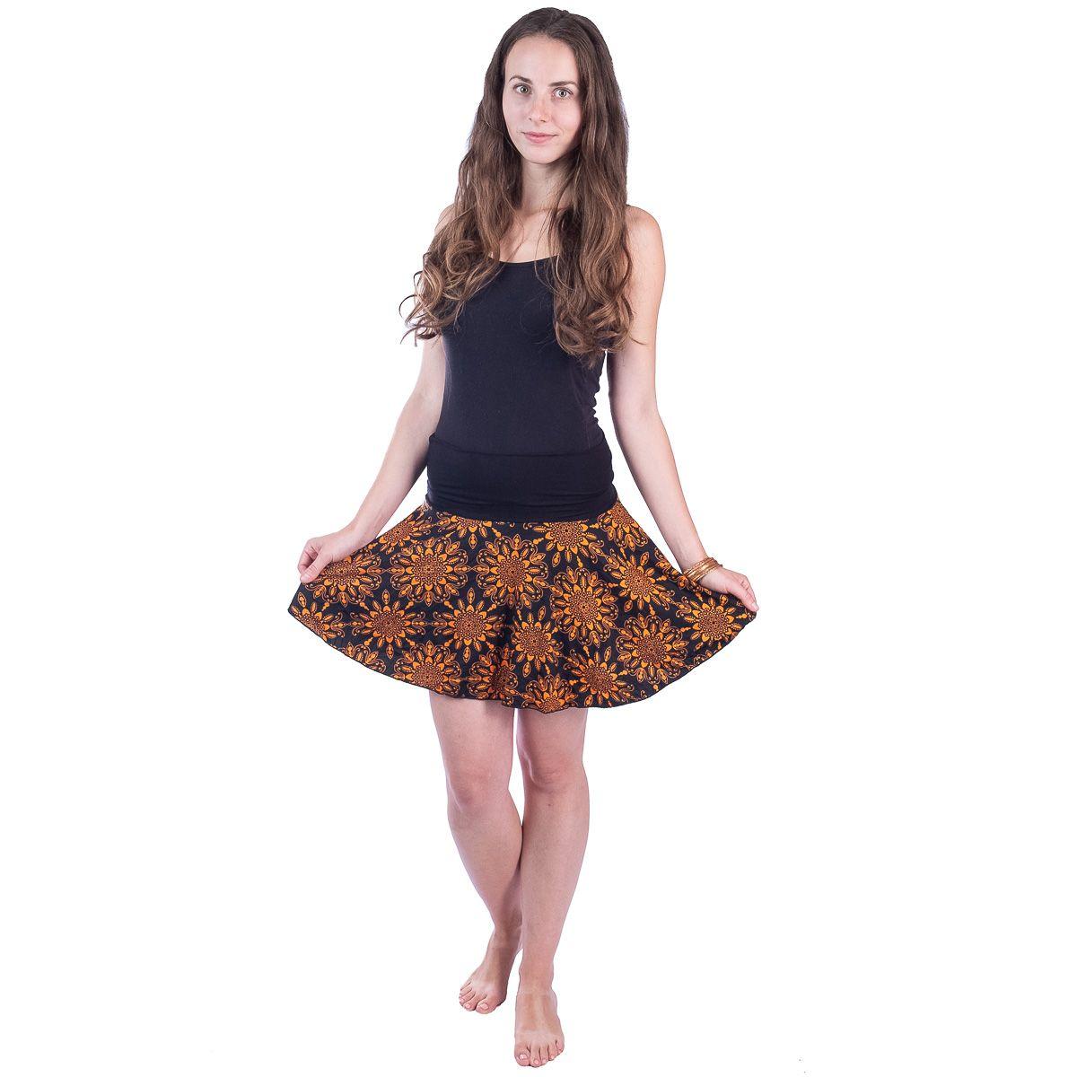 Kolová mini sukně Lutut Rika Thailand