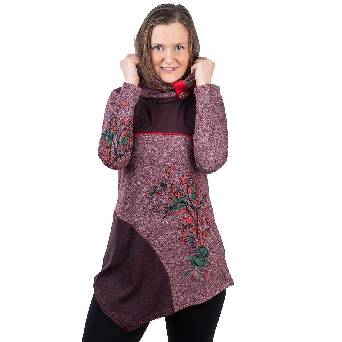 Šaty / Tunika Neela Plum