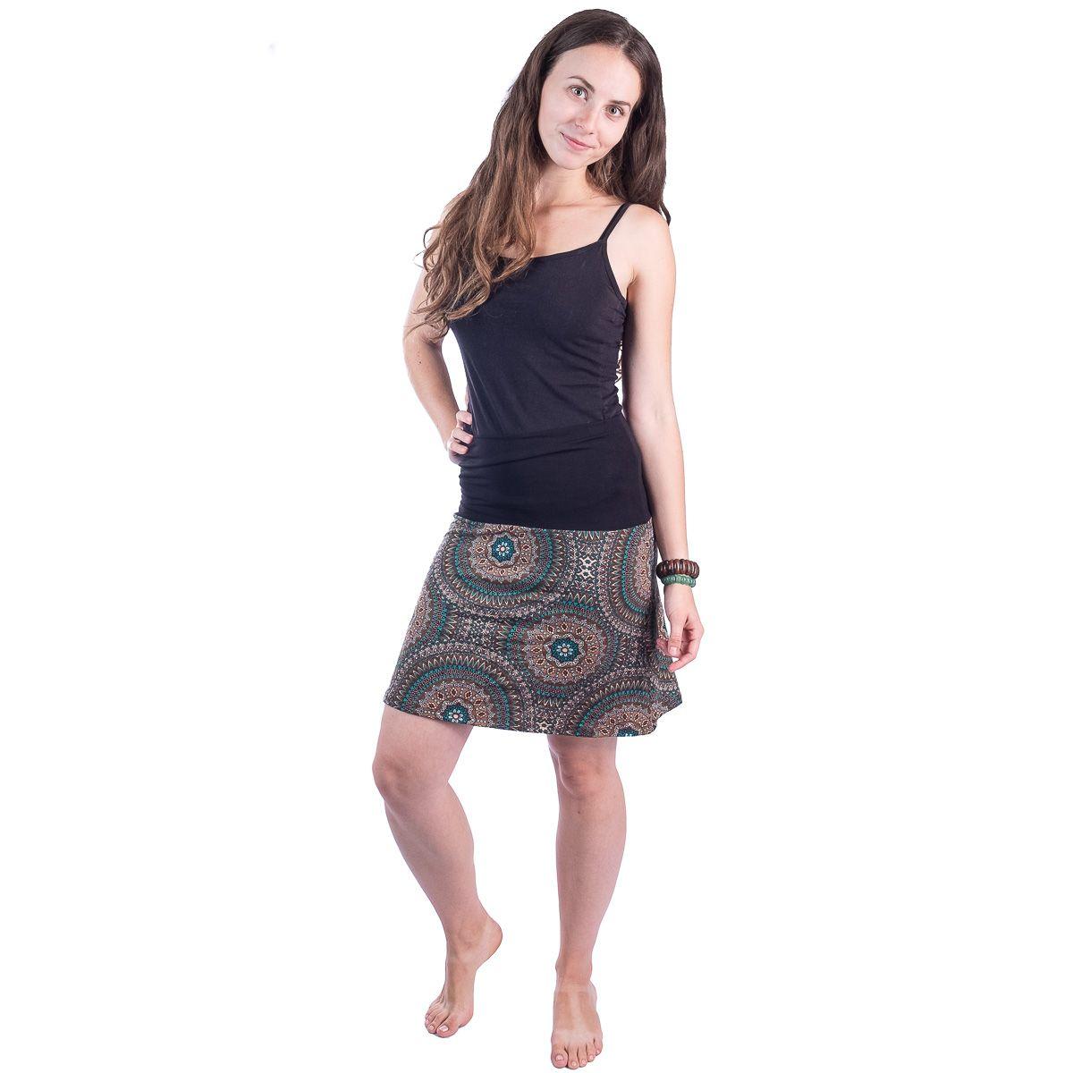 Sukně střední délky Ibu Hikaru Thailand