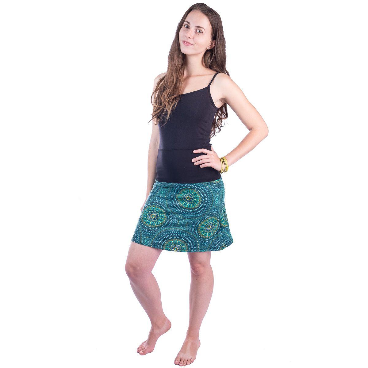 Sukně střední délky Ibu Michiko