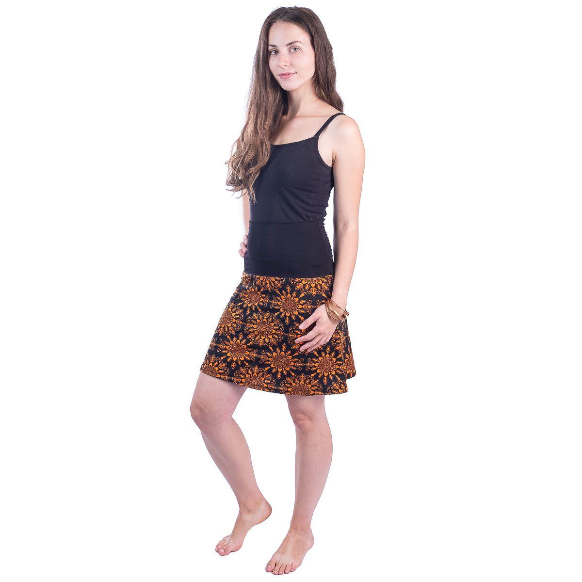 Sukně střední délky Ibu Rika