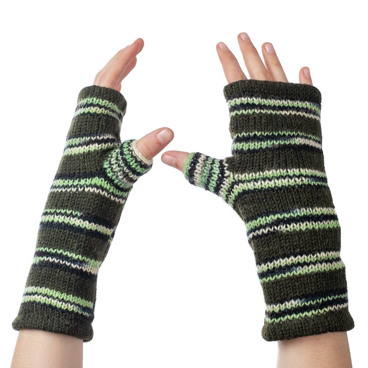 Vlněné návleky na ruce Lopika Grove