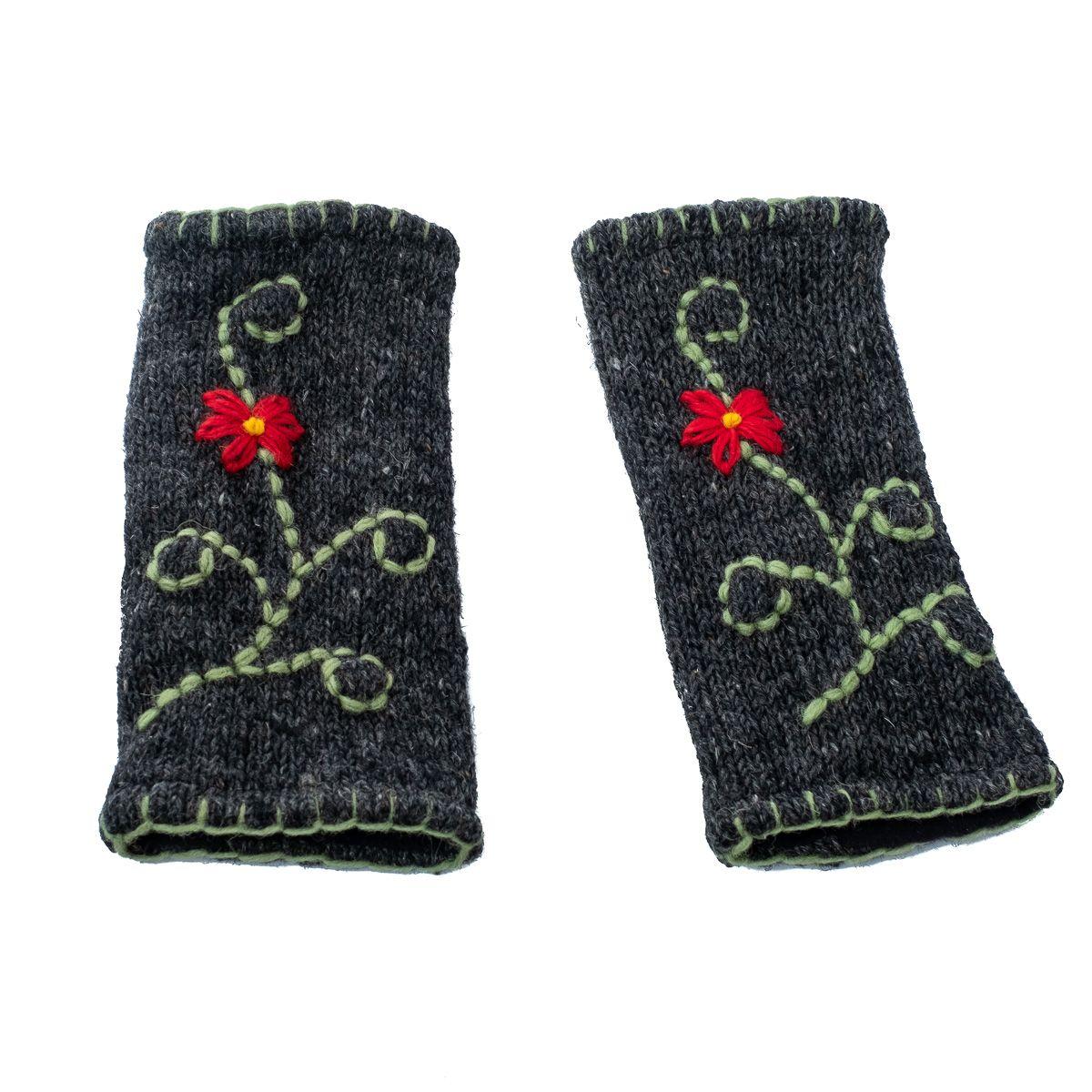Vlněné návleky na ruce Umanga Jumat