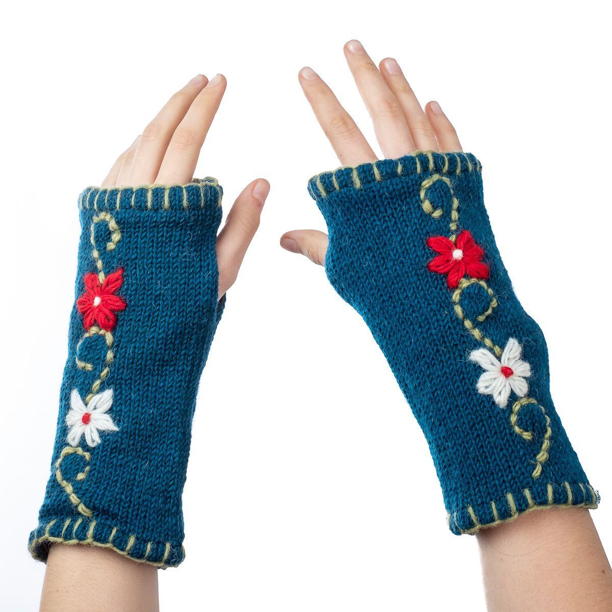 Vlněné návleky na ruce Umanga Kamis