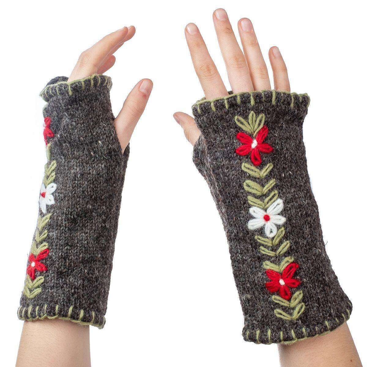 Vlněné návleky na ruce Umanga Zulmat